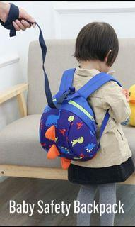 Baby safety harness bag
