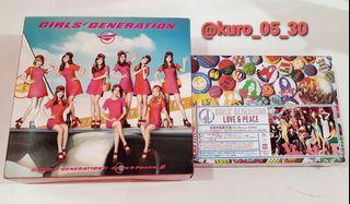 [SEALED] Girls' Generation SNSD - Live & Peace Japan Album Limited Edition