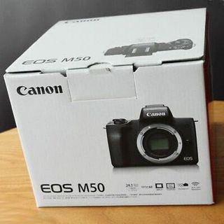 Canon EOS M50 w Kit Lens