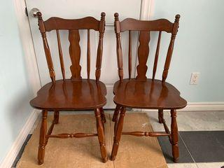Dining room chairs (price for 2)