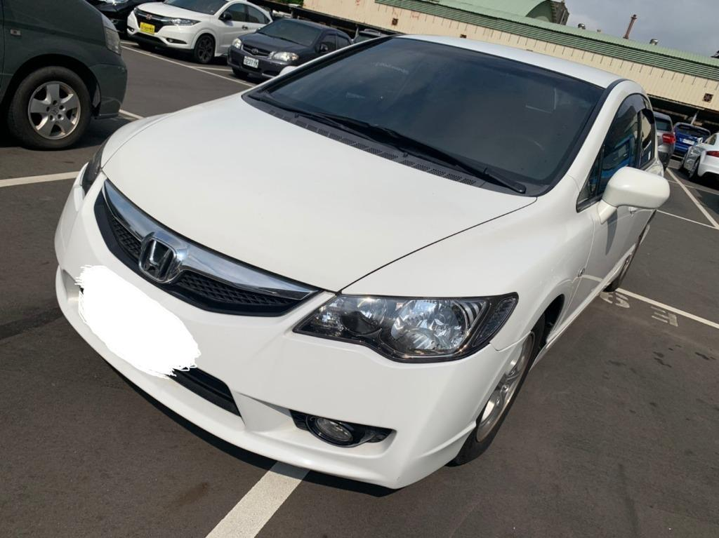 👉FB收尋:阿魁嚴選中古車👈Honda 2009 Civic 1.8 VTi-S❗0元牽車❗高期數❗低月付❗客制改裝❗輕鬆把🚗牽回家❤️