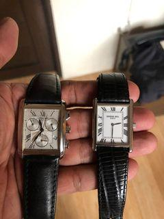 FS/FT: Raymond Weil Swiss Made watch Unisex Quartz 33-34mm size leather bracelet unit and Generic box only for only 15.8k each
