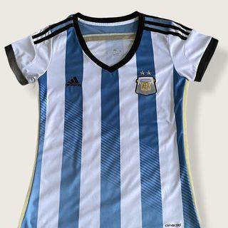 Jersey Bola Argentina Home 2014 World Cup Wanita Cewek Woman