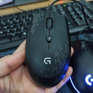 Logitech mouse gaming G102 prodigy lightsync G90 tidak double klik