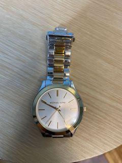 Michael Kors two tone dress watch