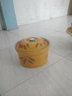 Pajangan keramik wadah Mangkuk