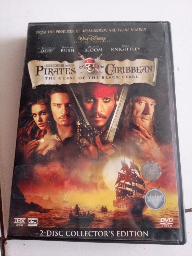 Pirate of caribbean boxset 2/disc