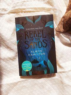 Preloved Novel Import: Rebel of The Sands PB   Fantasy   YA