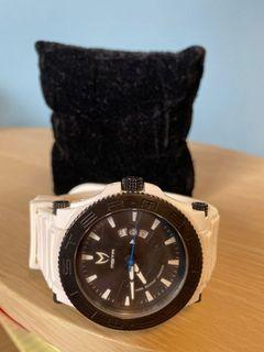 Prodigy Meister watch white and black with rubber band
