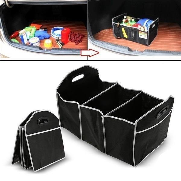 Vehicle Car Trunk/Cargo Collapsible Folding Organizer Storage