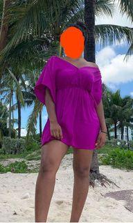 Vibrant Purple Dress