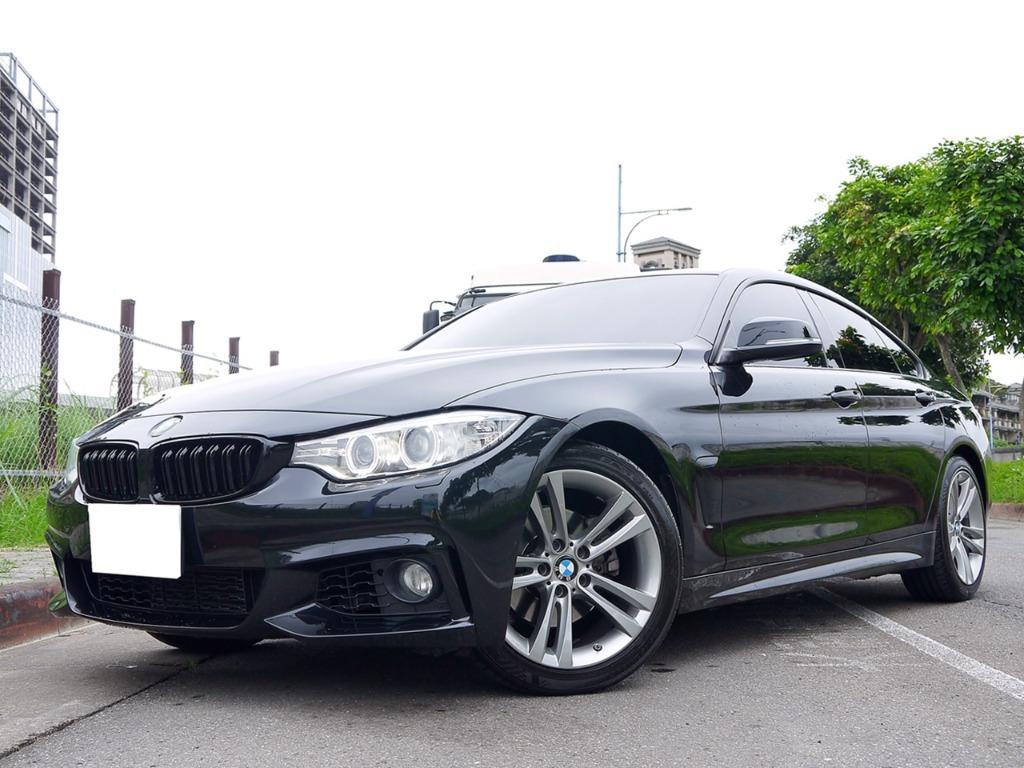 2014年 BMW 428I GRAN COUPE 認證車 全額貸款 低利率 強力處理 信用ˇ瑕疵