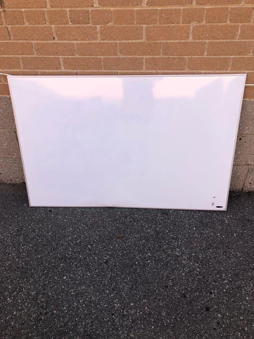 """$55 for big quartet 48"""" X 31"""" magnetic dry erase board"""