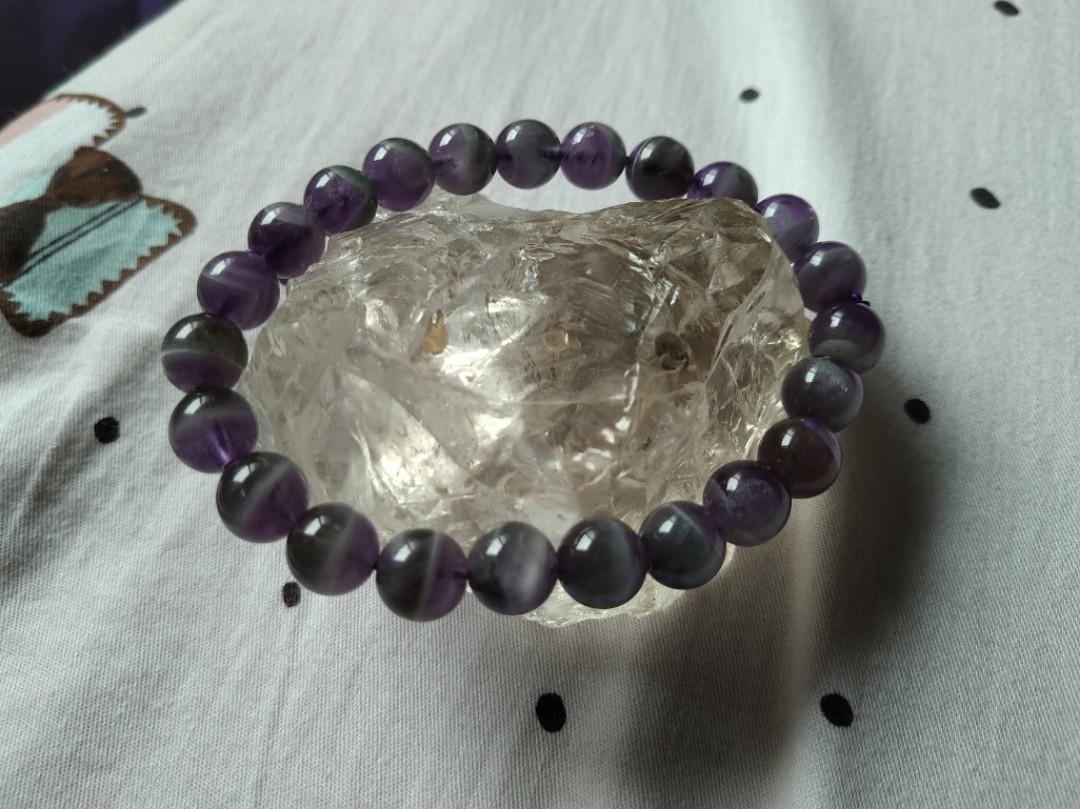 夢幻紫水晶手珠