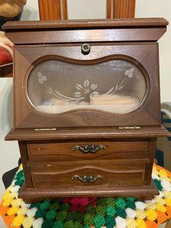 復古懷舊珠寶化妝盒完整無損