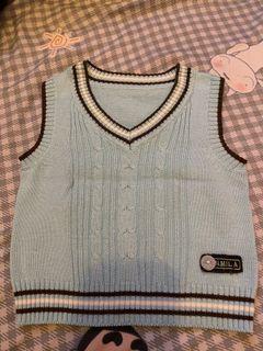 兒童針織毛衣背心