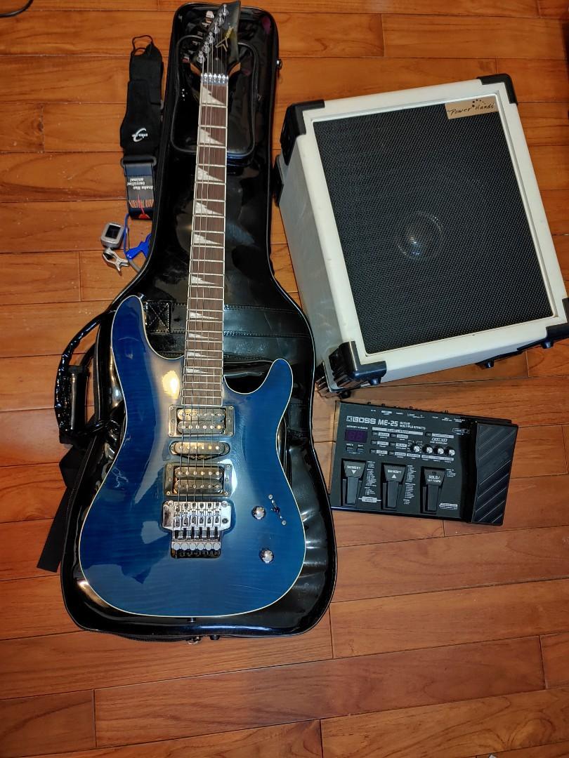 電吉他 效果器 音箱 琴袋 全套 二手 音響