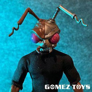 (預訂) GomezToys 1/12 復仇之魂 - 機械戈麥斯 頭雕