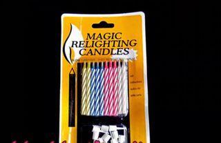 生日派對 Magic relighting candles吹不熄的蠟燭