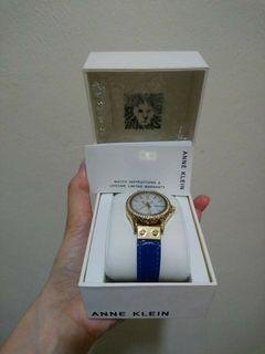 Anne Klein Blue Wrist Watch