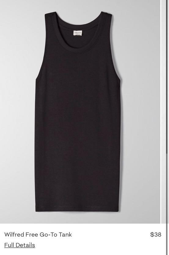 Aritzia Wilfred Free Go To Tank