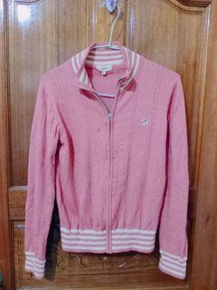 百貨專櫃cei粉色針織外套M