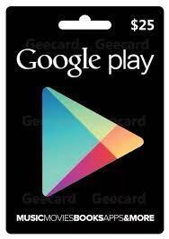 GOOGLE PALAY GIFT CARD