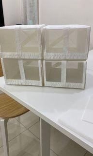 IKEA白色透氣鞋盒