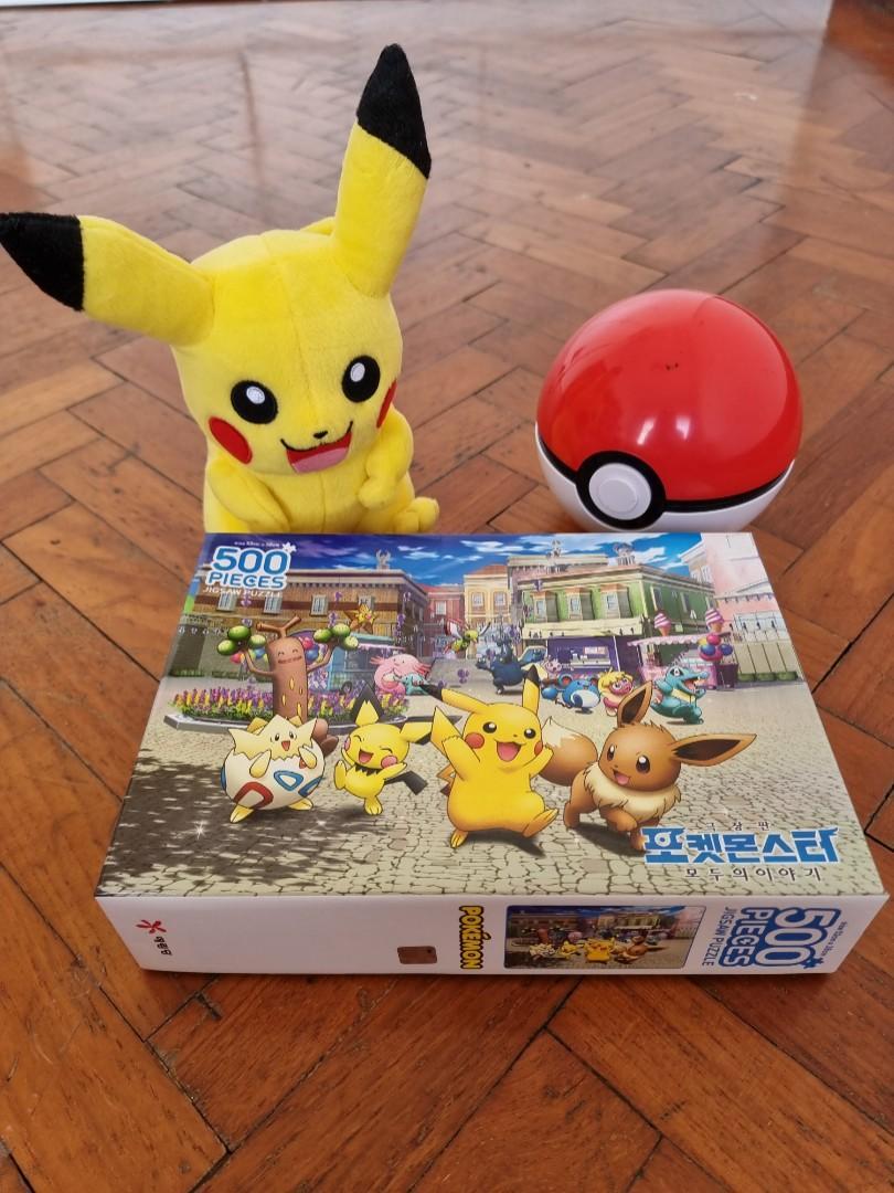 Korean Pokémon 500 piece jigsaw puzzle
