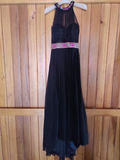 Longdress black size S  - No stretch