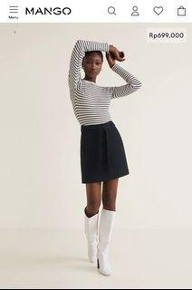 Mango Buttoned Miniskirt