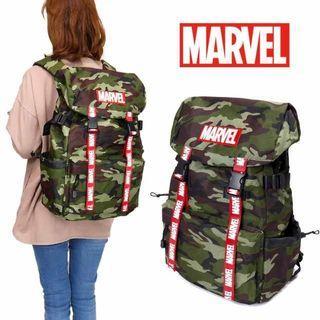 【🇯🇵免本地運費】Marvel 日本原裝正品 男女兼用 背包 Backpack 迷彩款 MBBK40