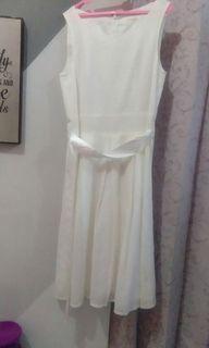 Mididress white