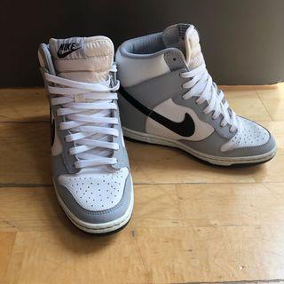 Nike heeled sneakers