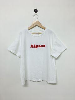 Queen Shop 字母寬版短袖T恤 Women's T-shirt