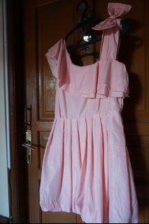 Ribbon Pink Dress