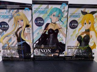 SAO EX-chronicle set of 3