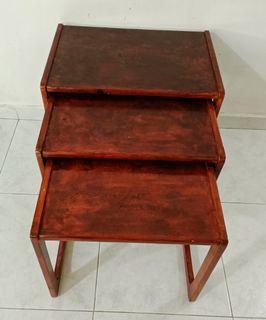 Solid Vintage Wooden Side Desk