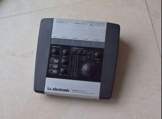 TC Electronic Desktop Konnect 6 FireWire Interface