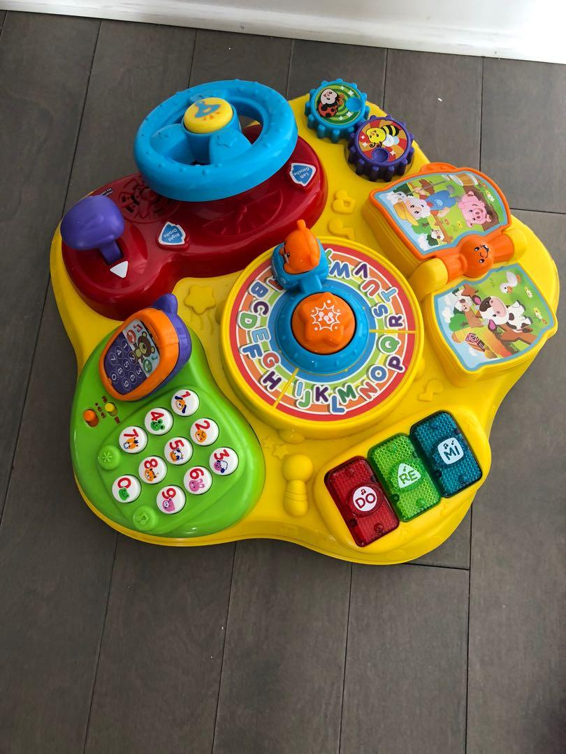 The Magic Star Learning Table from VTech