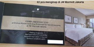 Voucher menginap di JW Marriott Jakarta