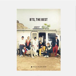《WTS》BTS, THE BEST JAPANESE UNSEALED ALBUM CD