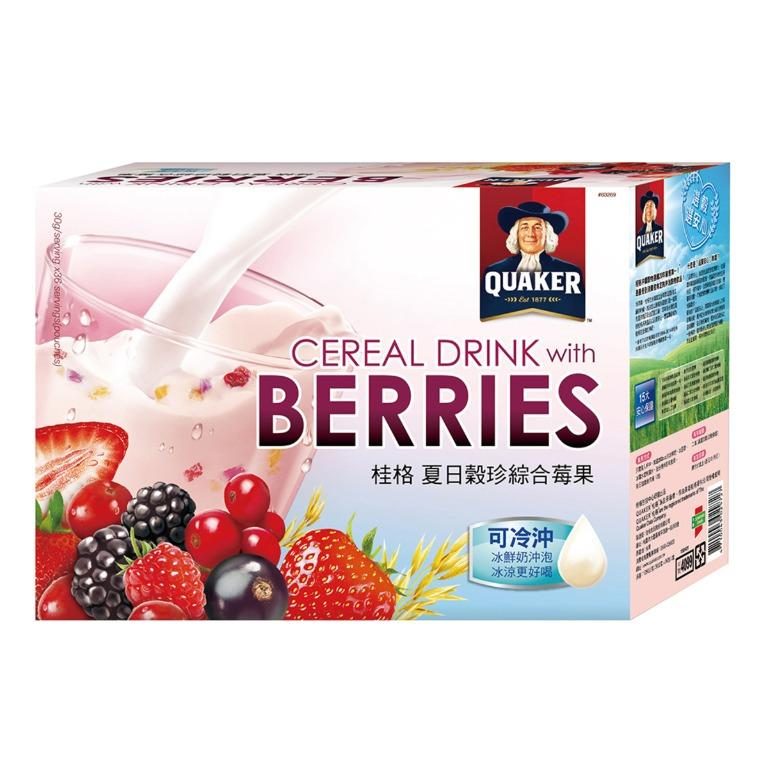 優惠到4/29 桂格 夏日穀珍綜合莓果 30公克36包 好市多代購 Costco
