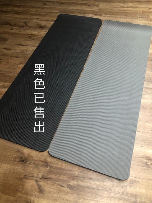 (二手)瑜珈墊 環保瑜珈墊 10MM加厚瑜珈墊 加大瑜伽墊 yoga(附網袋)