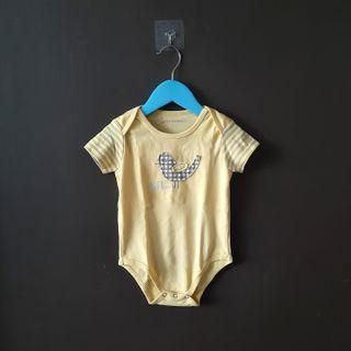 Baby scots yellow jumpsuit