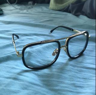 Black & Gold Glasses