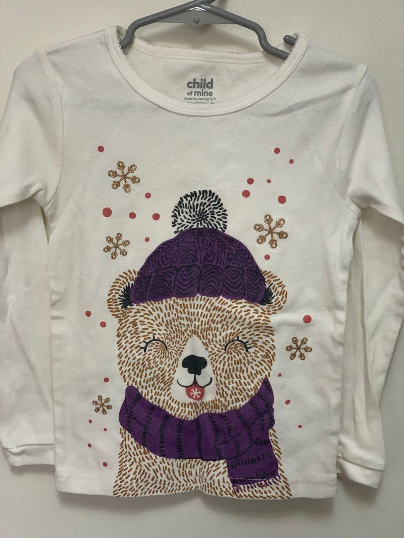 Brand new toddler girls long sleeve top by Carter's sz 4y