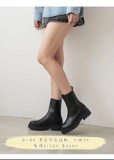 D+AF 切爾西厚底靴
