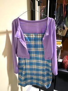 Dress Blue Square Korea