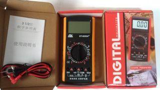 固耐斯DT-9205A+數位電表